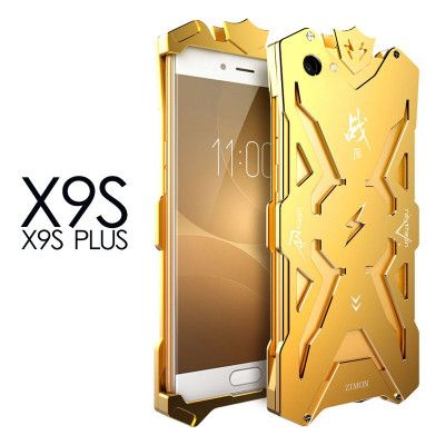 SIMON Mars Style Aluminum Alloy Frame Bumper Cover Case For VIVO X9S Plus
