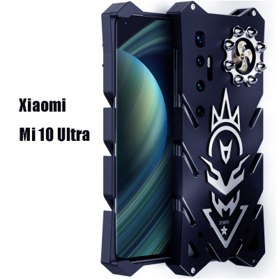 SIMON New Cool Aluminum Alloy Metal Frame Bumper Cover Case For Xiaomi Mi 10 Ultra