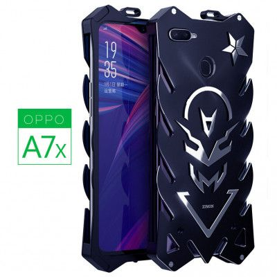 SIMON New Style Cool Aluminum Alloy Metal Frame Bumper Cover Case For OPPO A7X