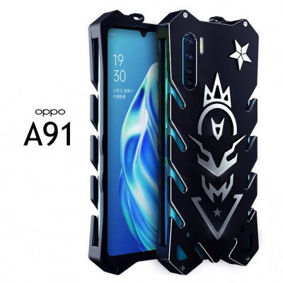 SIMON New Style Cool Aluminum Alloy Metal Frame Bumper Cover Case For OPPO A91