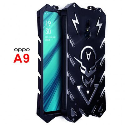 SIMON New Style Cool Aluminum Alloy Metal Frame Bumper Cover Case For OPPO A9