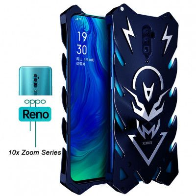 SIMON New Style Cool Aluminum Alloy Metal Frame Bumper Cover Case For OPPO Reno/Reno Z