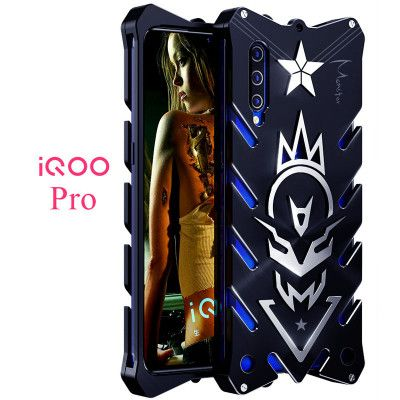 SIMON New Style Cool Aluminum Alloy Metal Frame Bumper Cover Case For ViVO iQOO Pro