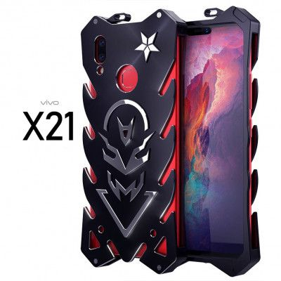 SIMON New Style Cool Aluminum Alloy Metal Frame Bumper Cover Case For ViVO X21/X21 Screen Fingerprint Edition