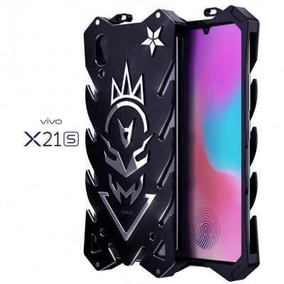 SIMON New Style Cool Aluminum Alloy Metal Frame Bumper Cover Case For ViVo X21S