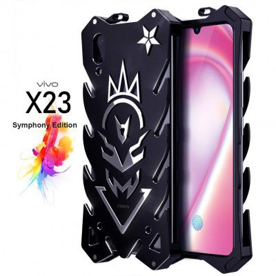SIMON New Style Cool Aluminum Alloy Metal Frame Bumper Cover Case For ViVo X23 Symphony Edition