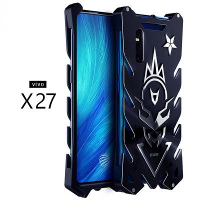 SIMON New Style Cool Aluminum Alloy Metal Frame Bumper Cover Case For VIVO X27