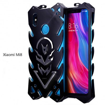 SIMON New Style Cool Aluminum Alloy Metal Frame Bumper Cover Case For Xiaomi Mi 8