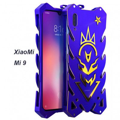 SIMON New Style Cool Aluminum Alloy Metal Frame Bumper Cover Case For Xiaomi Mi 9