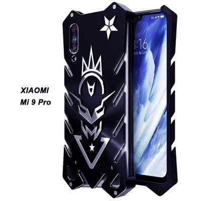 SIMON New Style Cool Aluminum Alloy Metal Frame Bumper Cover Case For Xiaomi Mi 9 Pro