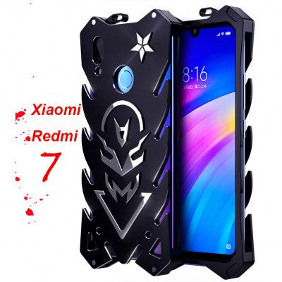 SIMON New Style Cool Aluminum Alloy Metal Frame Bumper Cover Case For Xiaomi Redmi 7