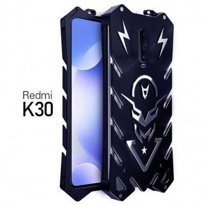SIMON New Style Cool Aluminum Alloy Metal Frame Bumper Cover Case For Xiaomi Redmi K30