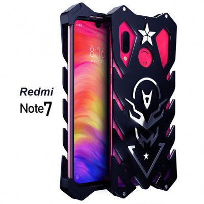 SIMON New Style Cool Aluminum Alloy Metal Frame Bumper Cover Case For Xiaomi Redmi Note 7