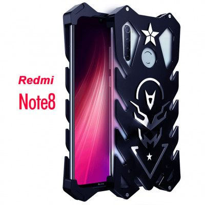 SIMON New Style Cool Aluminum Alloy Metal Frame Bumper Cover Case For Xiaomi Redmi Note 8 Pro/Redmi Note 8