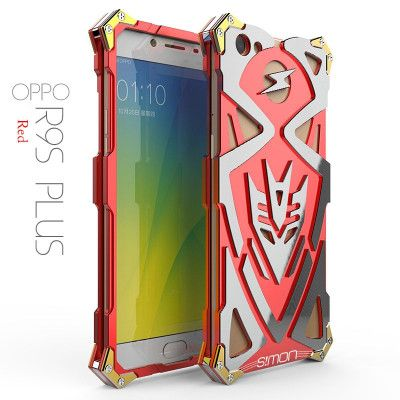 SIMON THOR 2 Aluminum Alloy Metal Frame Bumper Cover Case For OPPO R9S Plus
