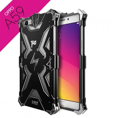 SIMON THOR Aluminum Alloy Metal Frame Bumper Cover Case For OPPO A59