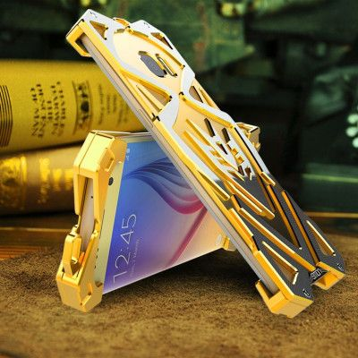 SIMON THOR Aluminum Alloy Metal Frame Bumper Cover Case For Samsung S6 Edge