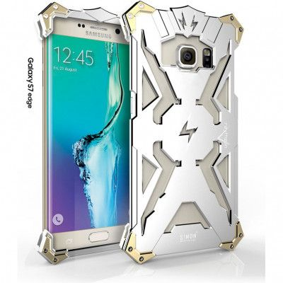 SIMON THOR Aluminum Alloy Metal Frame Bumper Cover Case For Samsung Galaxy S7 Edge