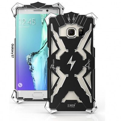 SIMON THOR Aluminum Alloy Metal Frame Bumper Cover Case For Samsung S7