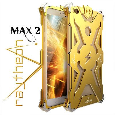 SIMON THOR Aluminum Alloy Metal Frame Bumper Cover Case For Xiaomi Max 2