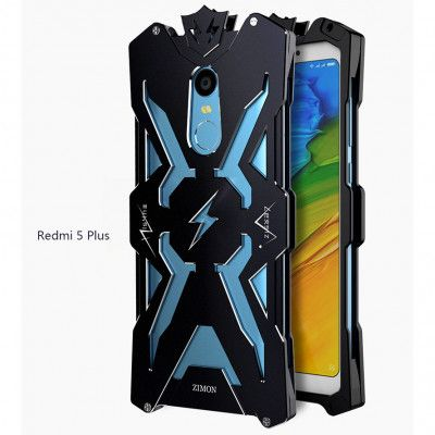 SIMON THOR Aluminum Alloy Metal Frame Bumper Cover Case For Xiaomi Redmi 5/5 Plus