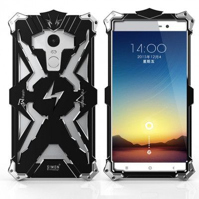 SIMON THOR Aluminum Alloy Metal Frame Bumper Cover Case For Xiaomi Redmi Note 3