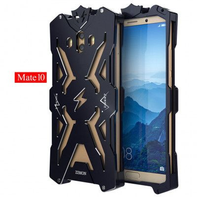 SIMON THOR Aviation Aluminum Alloy Shockproof Armor Metal Case Cover For Huawei Mate 10