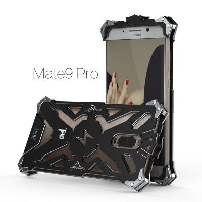 SIMON THOR Aviation Aluminum Alloy Shockproof Armor Metal Case Cover For Huawei Mate 9 Pro