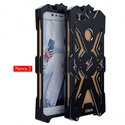 SIMON THOR Aviation Aluminum Alloy Shockproof Metal Case Cover For Huawei Nova 2