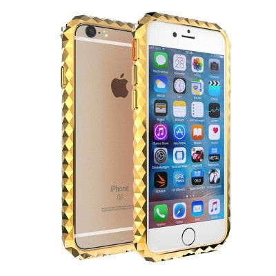 Simon Unique Shining Aluminum Alloy Diamond Bumper For iPhone 6/7/8