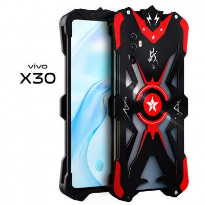 SIMON Upgraded Version Aluminum Alloy Metal Frame Bumper Cover Case For VIVO X30 Pro/X30