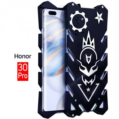 SIMON Aluminum Alloy Metal Frame Bumper Cover Case For Huawei Honor 30 Pro/Honor 30
