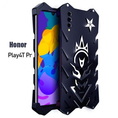 SIMON Aluminum Alloy Metal Frame Bumper Cover Case For HUAWEI Honor Play 4T Pro