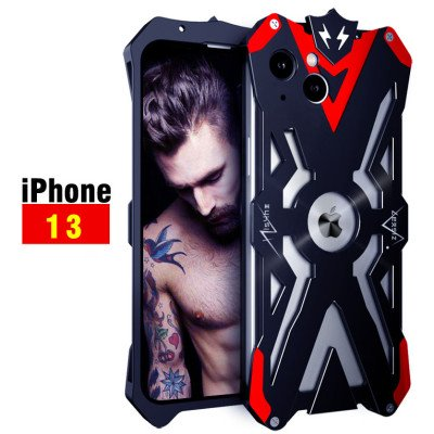 SIMON Aluminum Alloy Metal Frame Bumper Cover Case For iPhone 13 Pro Max/iPhone 13 Pro/iPhone 13
