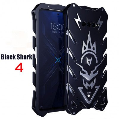 SIMON Aluminum Alloy Metal Frame Bumper Cover Case For XIAOMI Black Shark 4 Pro/Black Shark 4