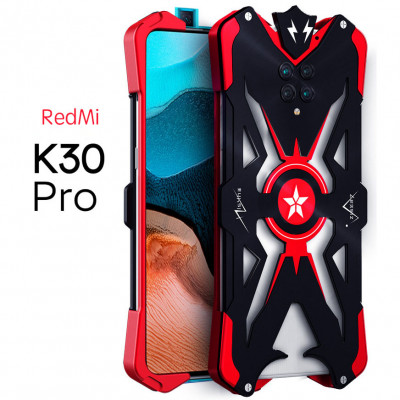 SIMON Aluminum Alloy Metal Frame Bumper Cover Case For Xiaomi Redmi K30 Pro/K30 Ultra