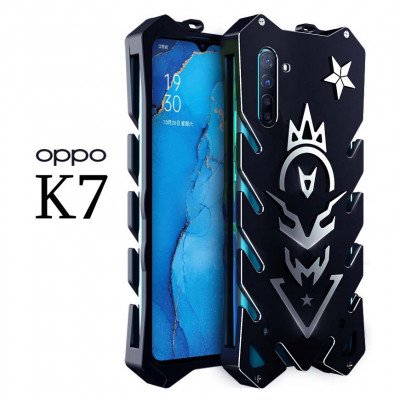 SIMON Cool Aluminum Alloy Metal Frame Bumper Cover Case For OPPO K7
