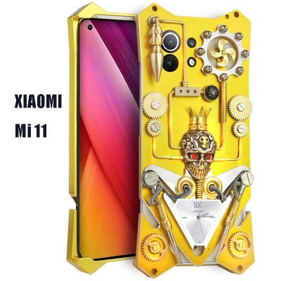 Simon Gothic Steampunk Mechanical Gear Metal Case For XIAOMI Mi 11