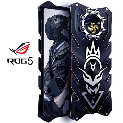SIMON New Cool Aluminum Alloy Metal Frame Bumper Cover Case For ASUS ROG 5