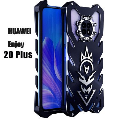 SIMON New Cool Aluminum Alloy Metal Frame Bumper Cover Case For HUAWEI Enjoy 20 Plus