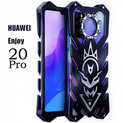 SIMON New Cool Aluminum Alloy Metal Frame Bumper Cover Case For HUAWEI Enjoy 20 Pro/Enjoy Z/Honor 30 Lite