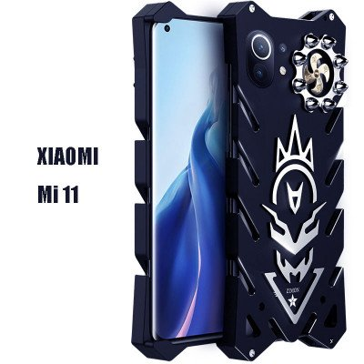SIMON New Cool Aluminum Alloy Metal Frame Bumper Cover Case For Xiaomi Mi 11