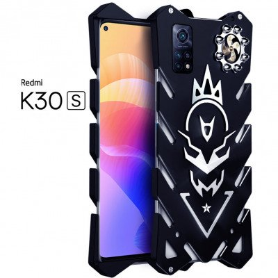 SIMON New Cool Aluminum Alloy Metal Frame Bumper Cover Case For Xiaomi Redmi K30 S