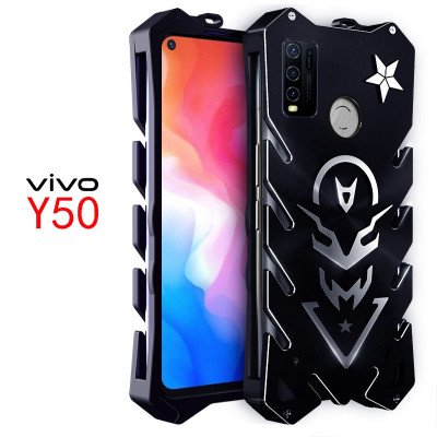 SIMON New Style Cool Aluminum Alloy Metal Frame Bumper Cover Case For VIVO Y50