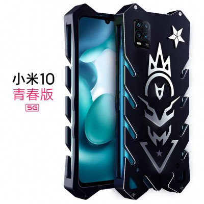 SIMON New Style Cool Aluminum Alloy Metal Frame Bumper Cover Case For Xiaomi Mi 10 Lite