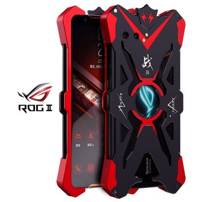 SIMON Upgraded Version Aluminum Alloy Metal Frame Bumper Cover Case For ASUS ROG Phone 2