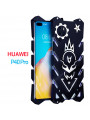 SIMON Cool Aluminum Alloy Metal Frame Bumper Cover Case For HUAWEI P40 Pro/P40