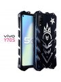 SIMON Cool Aluminum Alloy Metal Frame Bumper Cover Case For VIVO Y70S