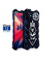 SIMON New Cool Aluminum Alloy Metal Frame Bumper Cover Case For iPhone 12/12 Pro