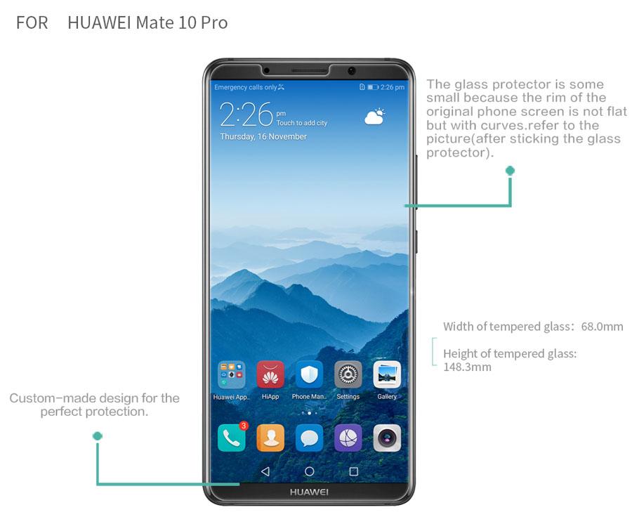 HUAWEI Mate 10 Pro screen protector